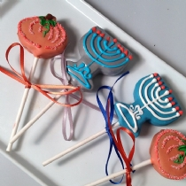 Thanksgiving and Hanukkah Cake pops