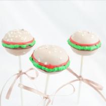 Hanburger Cake Pops