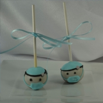 Doctor / Surgeon  Cake pop