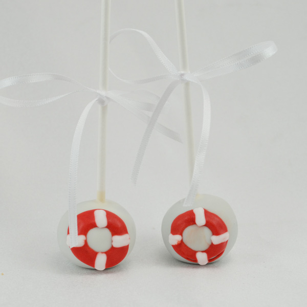 Life Saving Tube Cake Pops